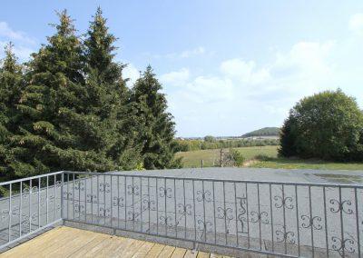 Blick von der Dachterrasse DHH 11a