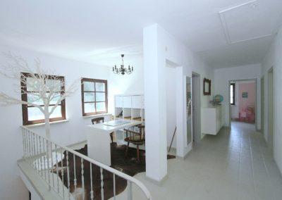 Galerie und Flur im Obergeschoss