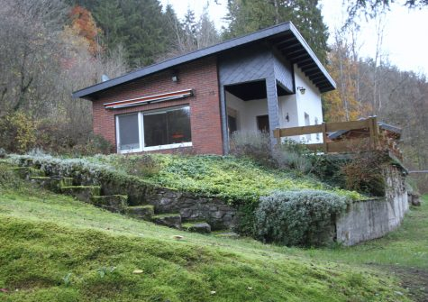 **Natur pur** idyllisch gelegenes Wochenendhaus mit sep. Gästehaus und 4.778 m² Naturgrundstück