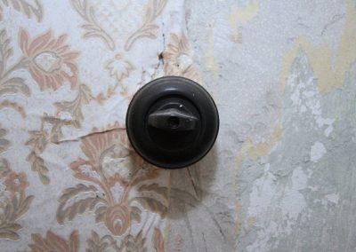 nostalgische alte Lichtschalter