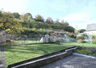Teilansicht des Gartens