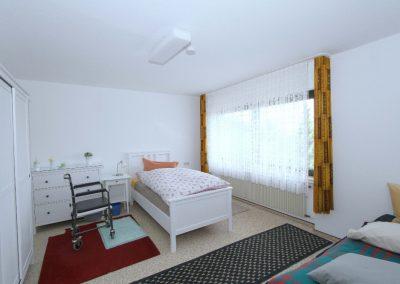 Schlafzimmer 1 in der Wohneinheit 2