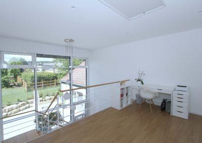 Galerie im Obergeschoss