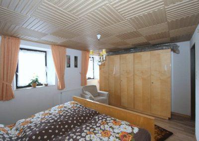 Schlafzimmer im OG des alten Hauses
