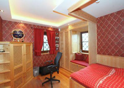 Schlafzimmer 1 im Untergeschoss
