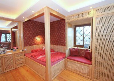 Schlafzimmer 2 im Untergeschoss