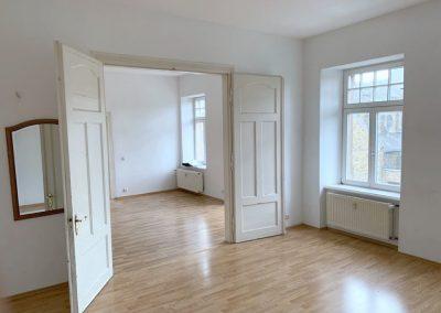 Wohn-/Esszimmer in Wohnung 3 (OG Haupthaus)