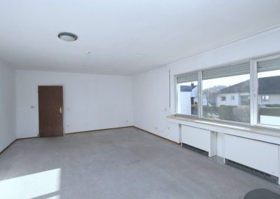 Wohnzimmer in der Einliegerwohnung