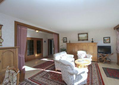 Wohn-/Esszimmer in der Hauptwohnung