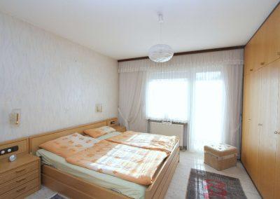 Schlafzimmer in der Hauptwohnung