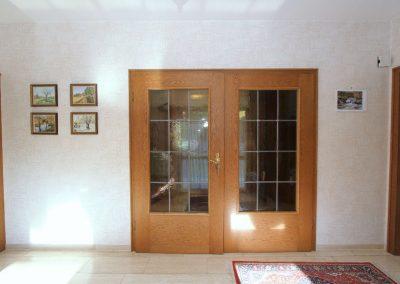 Tür zum Wohnbereich